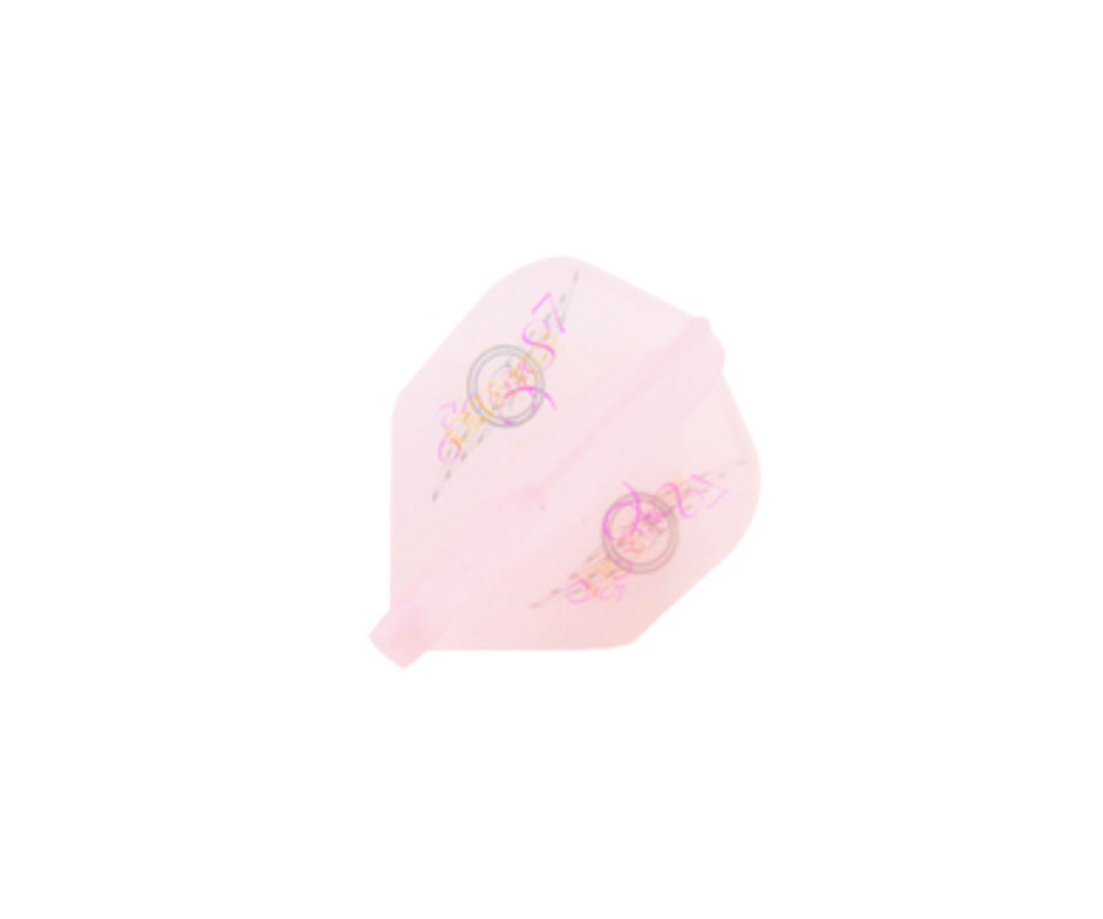 ダーツフライト【フィットフライトエアー×ジョーカードライバー】ピンク シェイプの画像