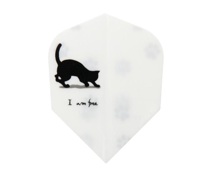 ダーツフライト【エスフォー】Cライン(free cat3)