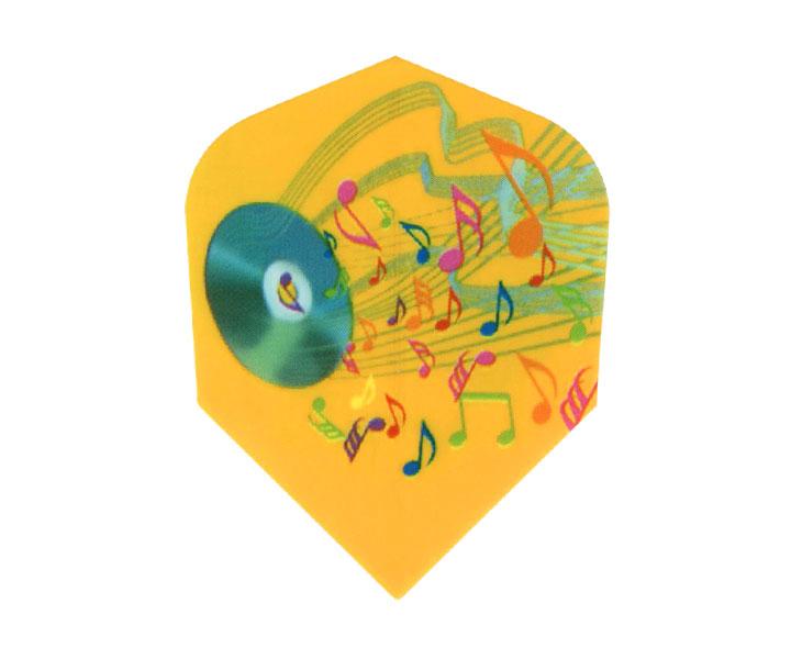 ダーツフライト【エスフォー】Cライン(ミュージック)