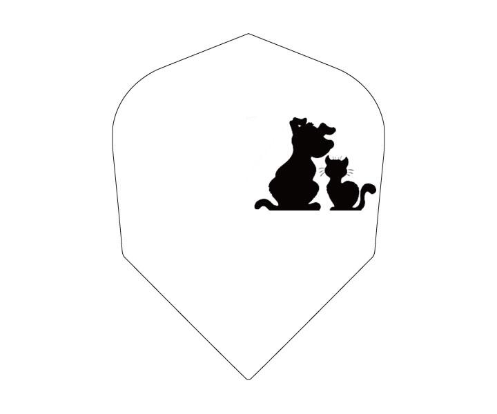ダーツフライト【エスフォー】Cライン(ドッグ&キャット)