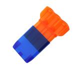 ダーツケース【カメオ】ドロップスリーブカクテル オレンジ×ブルー