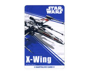 ダーツゲームカード【ダーツライブ】NO.1687 スターウォーズ エピソード4 Xウィング