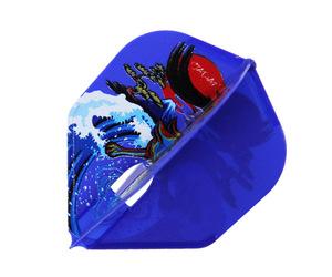 ダーツフライト【フライトエル】村松治樹モデル HAL ver.4 シェイプ ネイビーブルー