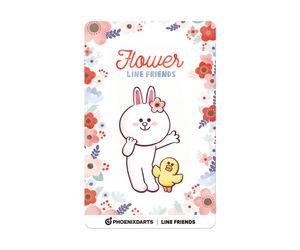 ダーツゲームカード【フェニックス】フェニカ LINE FRIENDS フラワー FLOWER