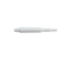【予約商品】シャフト【8フライト】レギュラー スピン ホワイト 19mm