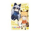 ゲームカード【ダーツライブ】けものフレンズ2 キタキツネ&ギンギツネ
