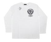 ダーツアパレル【3GGC】MT-02(Number39 ホワイト) ロングスリーブTシャツ