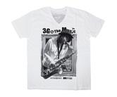 ダーツアパレル【3GGC】SAX GMS-07 ホワイト VネックTシャツ