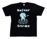 アパレル【マスターストローク】Tシャツ 鈴木未来 ミクル ver.2 ブラック