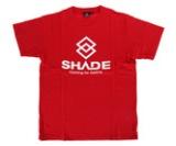 アパレル【シェード】SHADEロゴ Tシャツ レッド