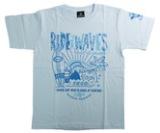 アパレル【シェード】SHADEBAT サマー Tシャツ 2020 ライトブルー