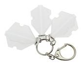 ダーツフライトケース【プテラファクトリー】フライトスロットケース ホワイト リング付き