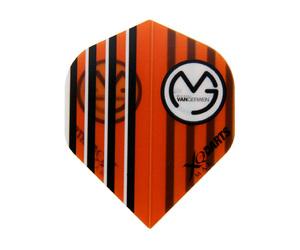 ダーツフライト【XQマックスダーツ】マイケル・ヴァン・ガーウェンモデル オレンジ MVA1078
