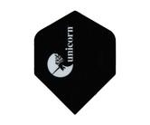 ダーツフライト【ユニコーン】マエストロ 100 ユニコーンロゴ プラス ブラック No.77688