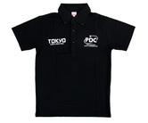 ダーツアパレル【PDJ】PDC TOKYO DARTS MASTERS 2016限定 ポロシャツ ブラック
