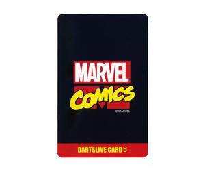 ダーツゲームカード【ダーツライブ】NO.1634 マーベルヒーロー3rd マーベルコミックス ブラック