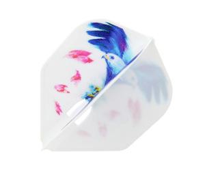 ダーツフライト【エルフライト】PRO ALC 宮副桜モデル シェイプ ホワイト
