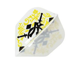 ダーツフライト【エルフライト】PRO 知野真澄モデル ver.1 シェイプ ホワイト