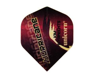 ダーツフライト【ユニコーン】オーセンティック.75 キム・ハイブリクス ハリケーン ビッグウィング No.68701