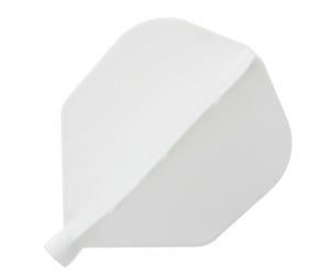 ダーツフライト【ダーツオン】エアー シェイプ ホワイト