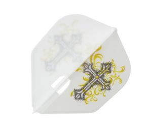 ダーツフライト【エルフライト】PRO 星野光正モデル HOSHINO ver.5 シェイプ ホワイト