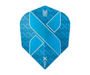 ダーツフライト【ターゲット】ヴィジョン ウルトラ TEN-X シェイプ ブルー 333470