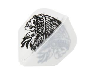 ダーツフライト【エルフライト×ジョニーズクラブ】EZ 安食賢一モデル ver.2 ホワイト