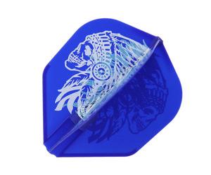 ダーツフライト【エルフライト×ジョニーズクラブ】EZ 安食賢一モデル ver.2 ブルー