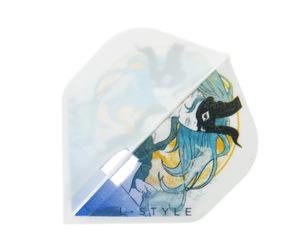 ダーツフライト【エルフライト】PRO カプリコーン スタンダード ホワイト