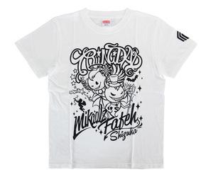 アパレル【マスターストローク】Tシャツ 近藤静加 シズカ ユナイテッド製 ホワイト XS
