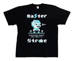 アパレル【マスターストローク】Tシャツ 鈴木未来 ミクル ver.2 ブラック S