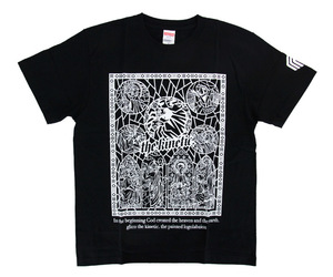 アパレル【マスターストローク】Tシャツ 松本康寿 グリコ ver.1 ブラック XL