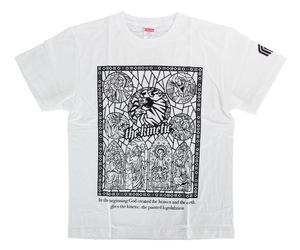 アパレル【マスターストローク】Tシャツ 松本康寿 グリコ ver.1 ホワイト L