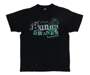 アパレル【シェード】Bunny PRANKS Tシャツ 佐々木沙綾香モデル ブラック&グリーン L