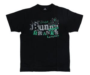 アパレル【シェード】Bunny PRANKS Tシャツ 佐々木沙綾香モデル ブラック&グリーン XXL
