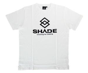 アパレル【シェード】SHADEロゴ Tシャツ ホワイト XS