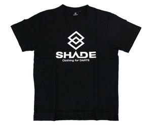 アパレル【シェード】SHADEロゴ Tシャツ ブラック XS