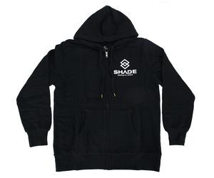 アパレル【シェード】SHADEロゴ パーカー ブラック S
