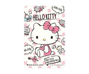 ゲームカード【ダーツライブ】ハローキティ ピンク