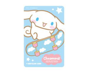 ゲームカード【ダーツライブ】シナモロール ブルー