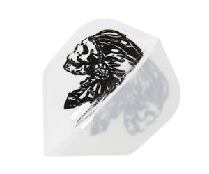 ダーツフライト【エルフライト】PRO 安食賢一モデル JONNY ver.3 シェイプ ホワイト