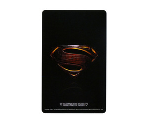 ゲームカード【ダーツライブ】NO.1798 ジャスティス・リーグ スーパーマンモチーフ