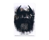 ゲームカード【ダーツライブ】NO.1802 ジャスティス・リーグ モノクロ ブラック