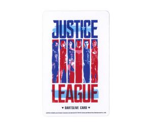 ゲームカード【ダーツライブ】NO.1803 ジャスティス・リーグ レッド&ブルー