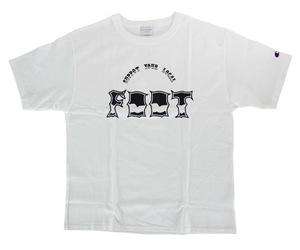 アパレル【フット】サンダーTシャツ/チャンピオンボディ ホワイト S
