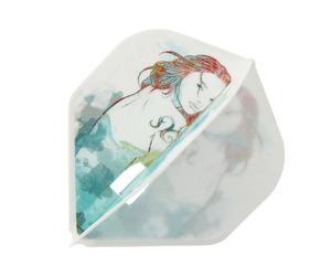 ダーツフライト【エルフライト】PRO ピスケス (うお座) スタンダード ホワイト