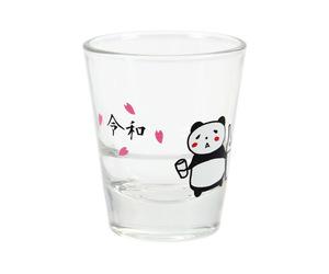 ダーツ雑貨【エスフォー】ショットグラス 酔っ払いパンダ 令和ver.