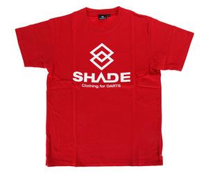 アパレル【シェード】SHADEロゴ Tシャツ レッド XS