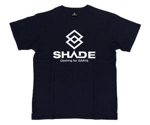 アパレル【シェード】SHADEロゴ Tシャツ ネイビー XS