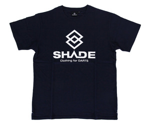 アパレル【シェード】SHADEロゴ Tシャツ ネイビー L